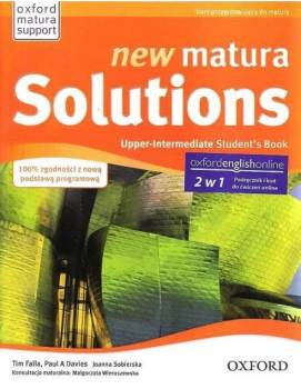 New Matura Solutions Upper-Intermediate Podręcznik + Ebook