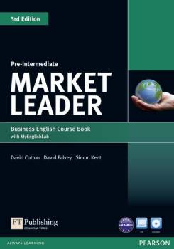 Market Leader 3rd Edtion Pre-intermediate Coursebook + Myenglishlab