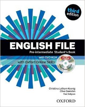 English File Third Edition Pre-Intermediate podręcznik + online skills