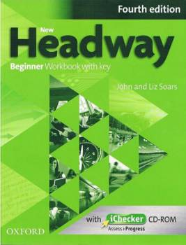 Headway Beginner Fourth Edition Zeszyt Ćwiczeń z Kluczem + Ichecker Cd