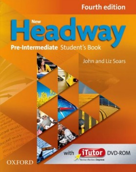 Headway 4th Edition Pre-intermediate Podręcznik + Dvd