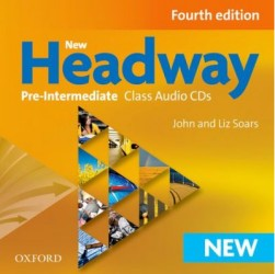 Headway 4th edition pre-intermediate płytki audio CD