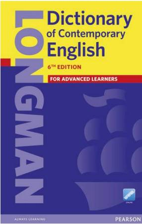 Longman Dictionary Of Contemporary English 6th Edition Oprawa Twarda
