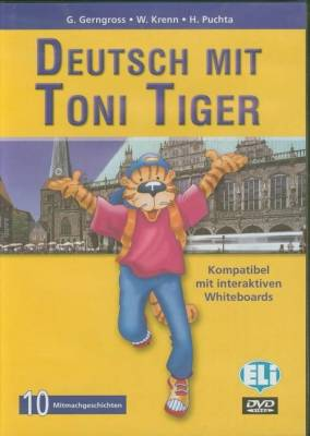 Deutsch mit Toni Tiger DVD