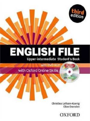 English File Third Edition Upper-intermediate podręcznik + online skills