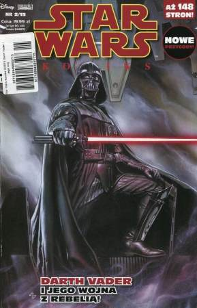 Star Wars Komiks 2/2015 Darth Vader i jego wojna z Rebelią!