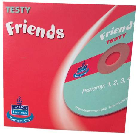 Friends Testy 1-4 na CD