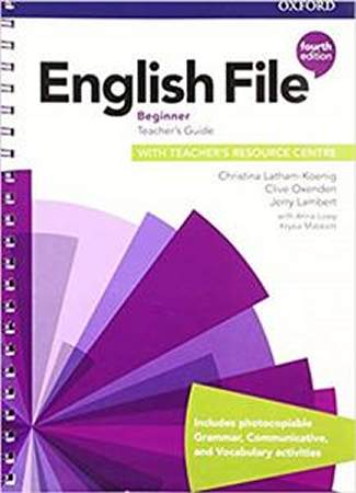 English File Fourth Edition Beginner Teachers Guide with Teachers Resource Centre
