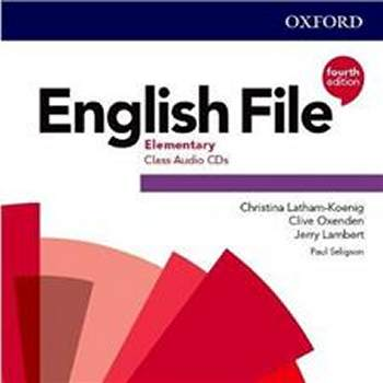 English File Fourth Edition Elementary Płytki audio CD