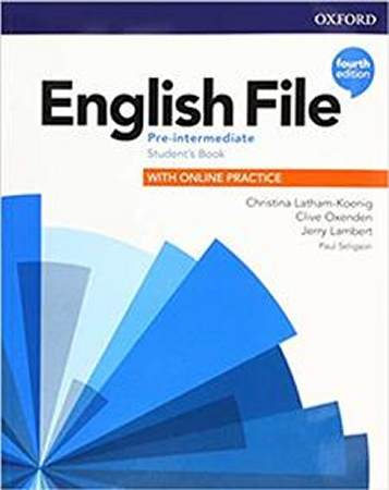 English File Fourth Edition Pre-intermediate Podręcznik (with Online Practice)