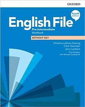 English File Fourth Edition Pre-intermediate Zeszyt ćwiczeń