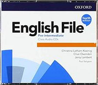 English File Fourth Edition Pre-intermediate Płytki audio CD