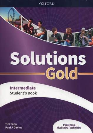 Solutions Gold Intermediate Podręcznik