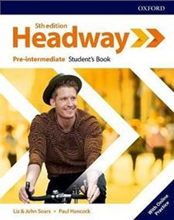 Headway Fifth Edition Pre-Intermediate Students Book with Online Practice