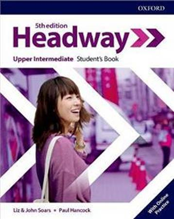 Headway Fifth Edition Upper-intermediate Students Book with Online Practice