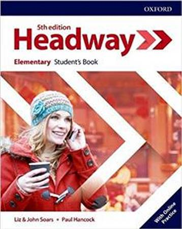 Headway Fifth Edition Elementary Students Book with Online Practice