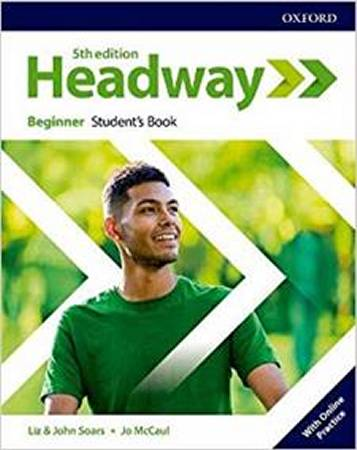 Headway Fifth Edition Beginner Students Book with Online Practice