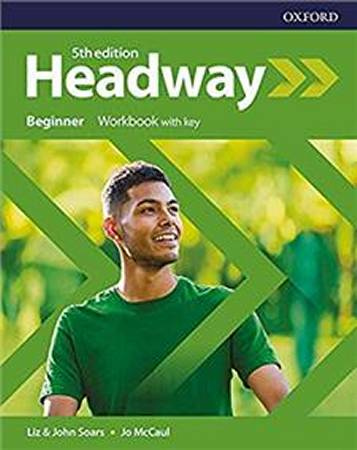 Headway Fifth Edition Beginner Workbook with Key