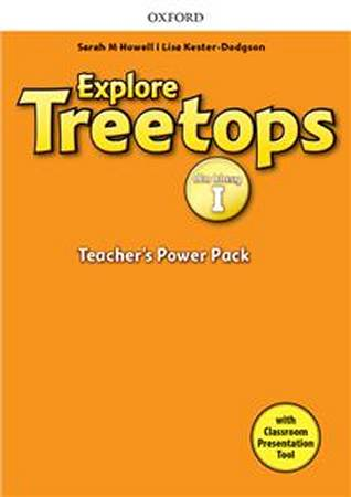 Explore Treetops dla klasy 1 Teachers Power Pack and Classroom Presentation Tool