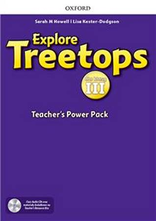 Explore Treetops dla klasy 3 Teachers Power Pack and Classroom Presentation Tool